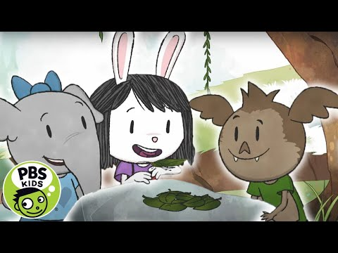 Elinor Wonders Why | The Power of Camouflage | PBS KIDS