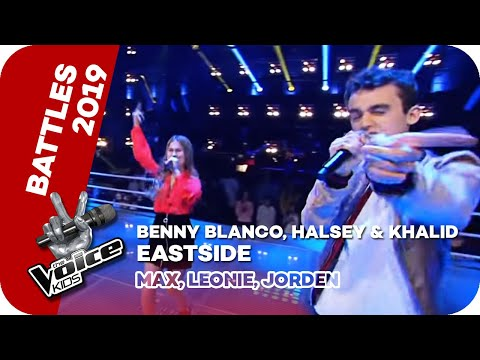Benny Blanco, Halsey & Khalid - Eastside (Max, Leonie, Jorden)   Battles   The Voice Kids   SAT.1