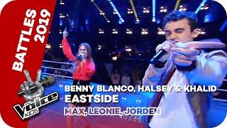 Benny Blanco, Halsey & Khalid - Eastside (Max, Leonie, Jorden) | Battles | The Voice Kids | SAT.1 Video