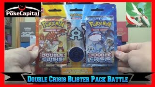 Pokemon Double Crisis Team Aqua Blister Pack Opening vs Gallade EX