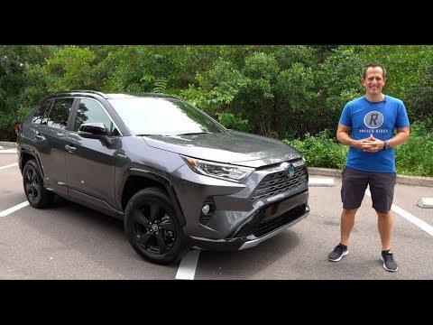 Why is the 2019 Toyota RAV4 Hybrid the RIGHT compact SUV to BUY?