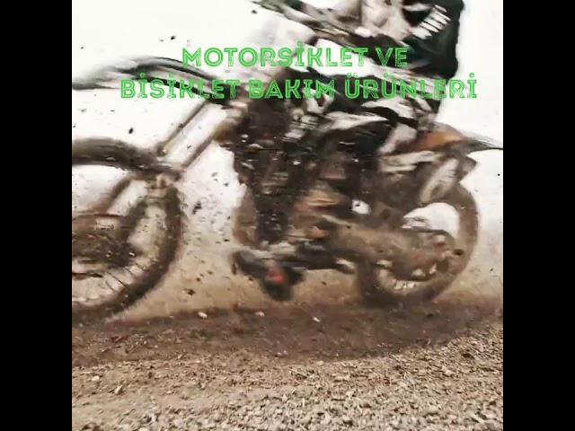ORGANİK MOTORSİKLET VE BİSİKLET BAKIMI