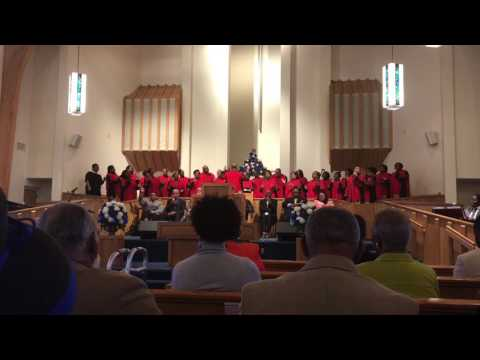 Reverend William Daye 2/19/17 Peace Missionary Baptist Church, Durham, NC