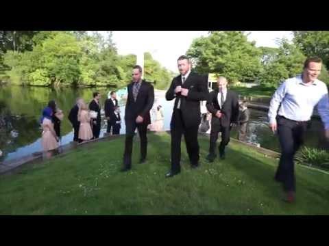 Wedding Photographer Falls Into Lake While Shooting Recessional