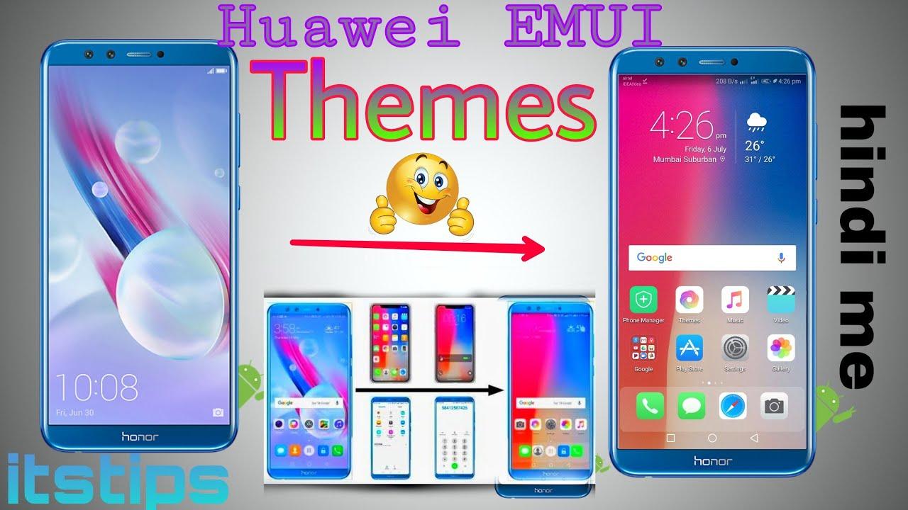 Huawei EMUI Themes iphone x theme | honor 9lite,6x,7x,p20 lite,honor 10
