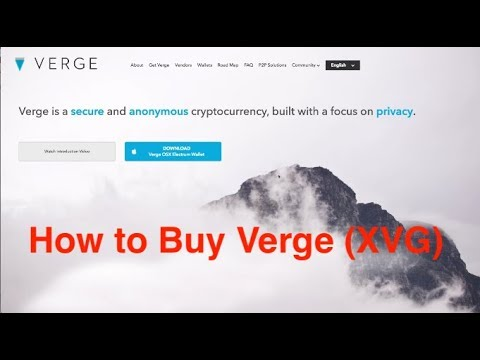 buy verge cryptocurrency in india