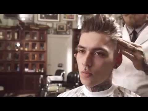 How to cut a: Razor Faded Pompadour (Full Version) by Schorem haarsnijder  en Barbier