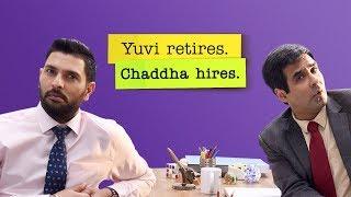 The Office Yuvi Retires Chaddha Hires