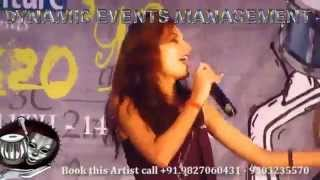 Singer Akanksha Sharma Live Performance Chikni Chameli