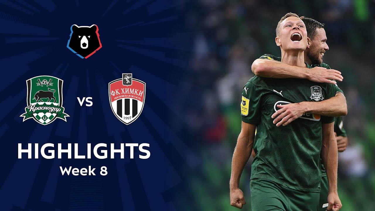 Highlights Fc Krasnodar Vs Fc Khimki 7 2 Rpl 2020 21 Youtube
