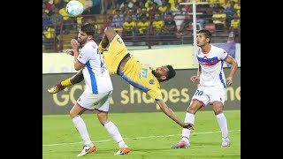 ISL Season 4| Kerala Blasters Vs FC Goa|CK Vineeth Bicycle Kick