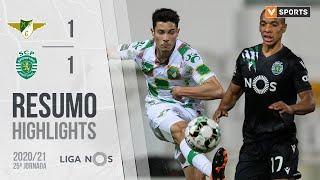 Highlights   Resumo: Moreirense 1-1 Sporting (Liga 20/21 #25)