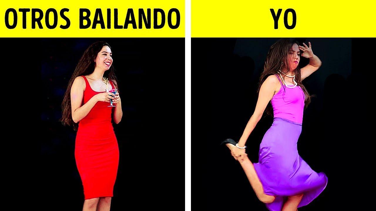 TIPOS DE BAILARINES EN TODA FIESTA || SITUACIONES CON LAS QUE TODOS NOS IDENTIFICAMOS