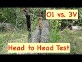 3v vs O1 Head to Head Edge Test