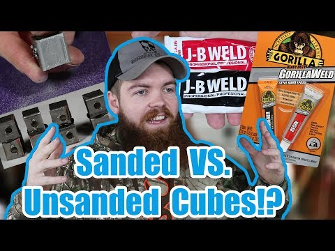 Should you sand metal before you glue it?