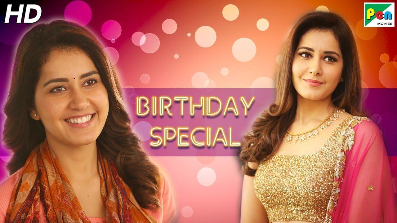 Download Birthday Special | Raashi Khanna Best Romantic Scenes | Tholi Prema, Izzat Ke Khatir