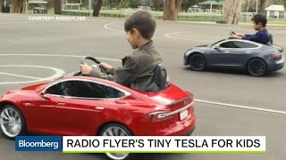 Radio Flyer's Teaming With Tesla to Make a Model S for Kids