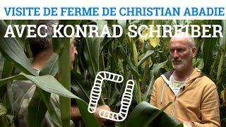 Visite de Ferme de Christian ABADIE avec Konrad SCHREIBER
