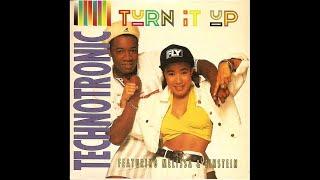 Technotronic feat. Melissa & Einstein - Turn it up (International 3)