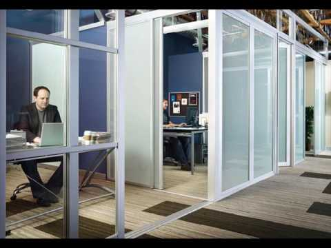 Office Partition Walls With Glass Design Youtube