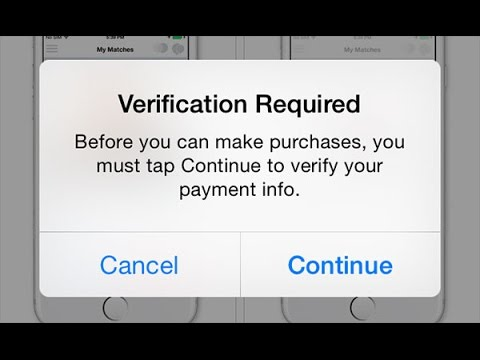 How to cancel been verified app