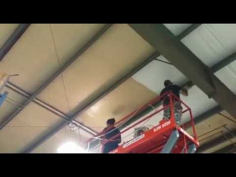 Industrial Ceiling Cleaning