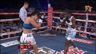 """Jackie Nava vs Sayda """"La Bomba"""" Mosquera FULL HD TV Azteca"""