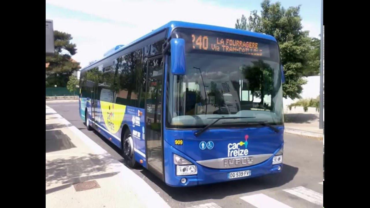 sound bus iveco bus crossway le n 909 du r seau cartreize sur la ligne 240 youtube. Black Bedroom Furniture Sets. Home Design Ideas