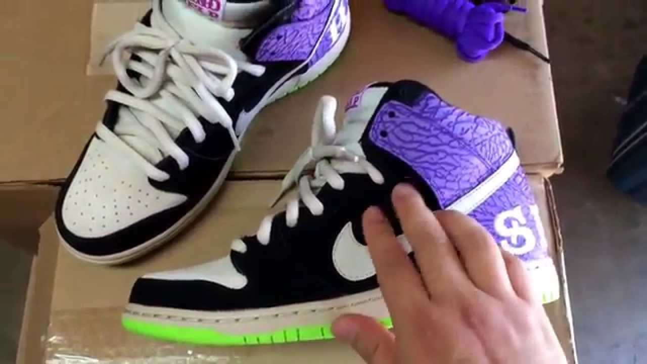 quality design f232f cbf52 Nike Sb Dunk High Send Help 2 for a Steal Review Unboxing
