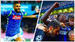 Partite Incredibili Delle Squadre Italiane In Serie A + Champions League 2018/2019