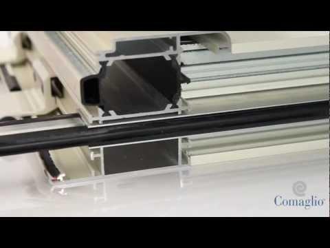 Pressure 1700 montaggio tradizionale su alluminio - Montaggio paraspifferi porta blindata ...