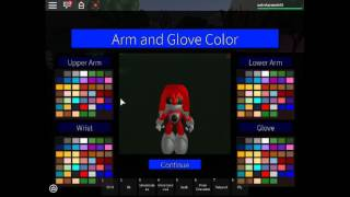 how to make metal knuckles in roblox sonic rp: project reignite