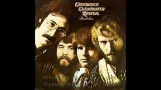 CREEDENCE CLEAWATER REVIVAL - HIDEWAY - Subtitulos Español & Inglés