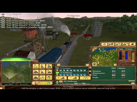 Railroad Tycoon 3 - 06 - State of Germany (Gold Medal)