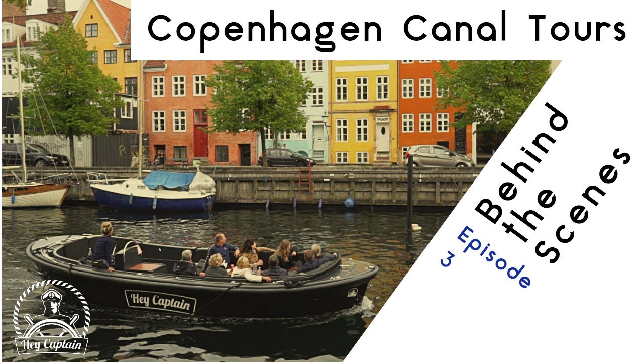 1 rated Copenhagen canal and boat tour | Hey Captain