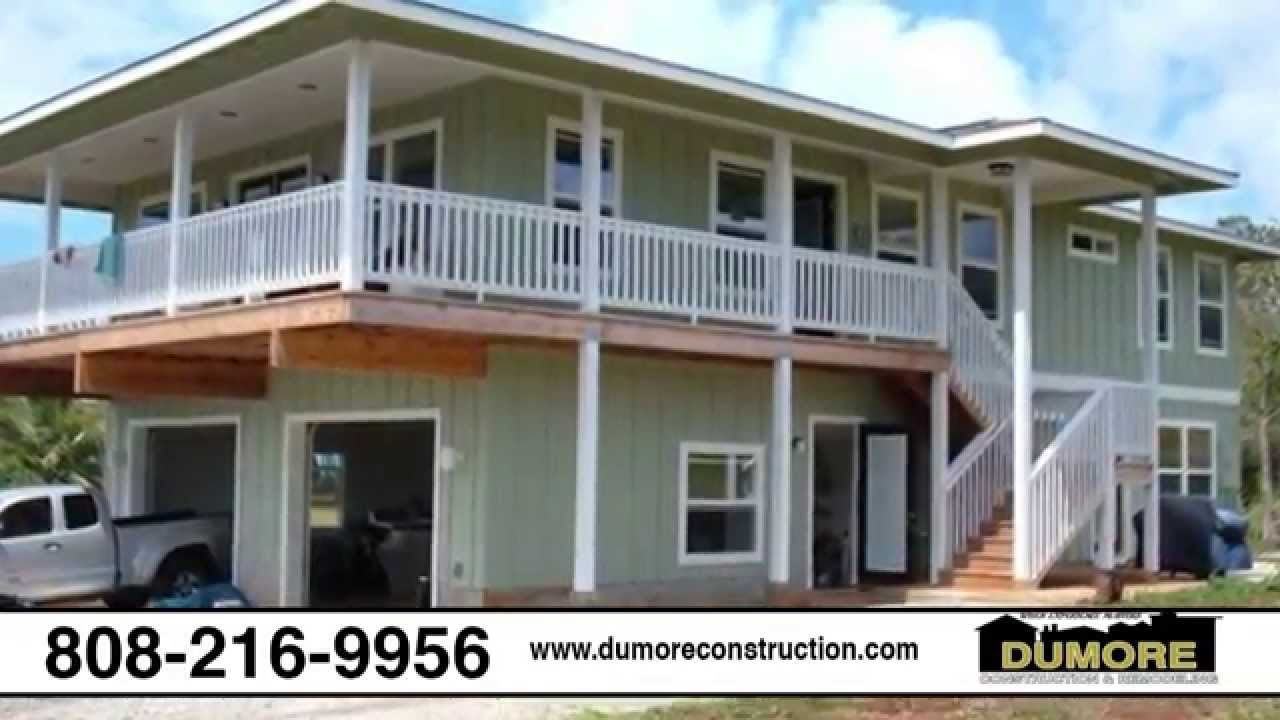 Icf homes hawaii icf construction contractor honolulu for Hawaii home building packages