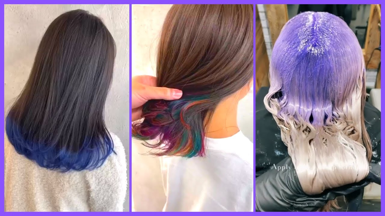 Top 5 Stylish Hair Color Trends 2020 - 2021 | New Hair Color ideas fall/winter | Hair ...