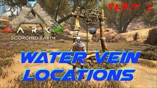 Water Vein Locations Part 2 | ARK: Scorched Earth