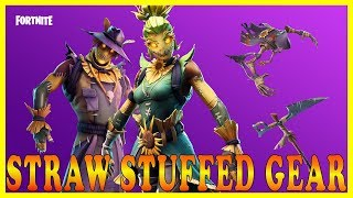 "NEW ""STRAW STUFFED GEAR"" SKINS in FORTNITE - NEW ""DROP THE BASS"" EMOTE // Playing With SUBSCRIBERS"