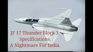 jf 17 thunder block 4 specifications video, jf 17 thunder