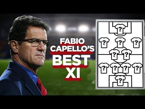 Fabio Capello's Best XI