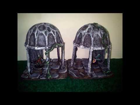 Ancient Shrines Crafting Progress Tutorial tworzenia starożytnych kaplic