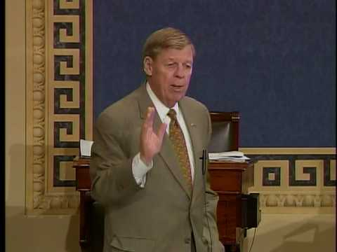 Senator Johnny Isakson on Financial Reform