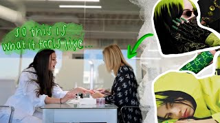 billie eilish's nail artist does my nails... (gap year)