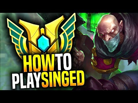 How To Play Singed Ft. Lehends! - THE BEST SINGED IN KOREA! | Be Challenger