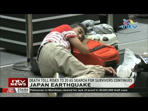 Japan earthquake: Death toll rises to 20