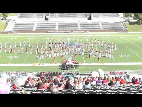 Bridge City High School Band 2015 - Galena Park ISD Marching Festival