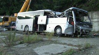В страшной аварии под Новороссийском погибли женщина и двое детей.