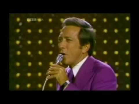 Andy Williams  Cant Take My Eyes Off You Singing, ! Year 1967