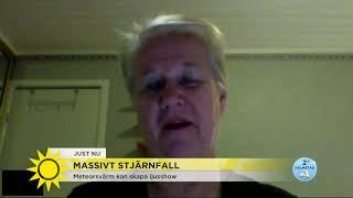 Se upp! Nu är det synnerligena chanser att få se stjärnfall - Nyhetsmorgon (TV4)